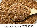 heap of quinoa healthy vegan... | Shutterstock . vector #428723539