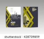 template design  layout ... | Shutterstock .eps vector #428739859