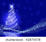 beautiful christmas  new year ... | Shutterstock . vector #42875578