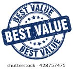best value. stamp | Shutterstock .eps vector #428757475