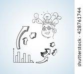 sketch icon. creative concept.  ...   Shutterstock .eps vector #428761744