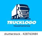 truck illustration. logo design | Shutterstock .eps vector #428763484