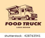 logo of food truck | Shutterstock .eps vector #428763541