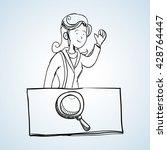 sketch icon. creative concept.  ...   Shutterstock .eps vector #428764447