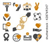 charity  kindness  donate icon... | Shutterstock .eps vector #428769247
