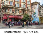 brussels   april 21  2016 ... | Shutterstock . vector #428775121