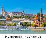 matthias church  bastion of the ... | Shutterstock . vector #428780491