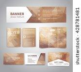 banner  flyers  brochure ... | Shutterstock .eps vector #428781481