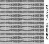 hand drawn herringbone pattern. ... | Shutterstock .eps vector #428792545