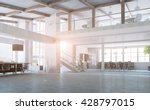 elegant office interior | Shutterstock . vector #428797015