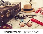 Ready Vacation Suitcase Holiday Concept - Fine Art prints