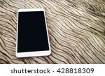 smart phone on the seamless... | Shutterstock . vector #428818309