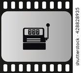 slot machine icon. | Shutterstock .eps vector #428828935