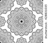 oriental seamless pattern of... | Shutterstock .eps vector #428831035