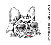 French Bulldog Portrait In A...