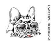 French Bulldog Portrait In A...