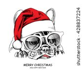 french bulldog portrait in a...   Shutterstock .eps vector #428837224