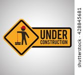 under construction design. tool ... | Shutterstock .eps vector #428845681