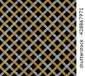 grunge seamless pattern of gold ... | Shutterstock .eps vector #428867971
