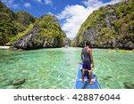 miniloc island  bacuit... | Shutterstock . vector #428876044
