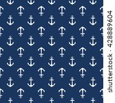 Seamless Nautical Pattern With...