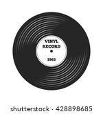 gramophone vinyl lp record.... | Shutterstock .eps vector #428898685