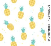 vector seamless pattern with... | Shutterstock .eps vector #428900101