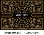 vector poster design template... | Shutterstock .eps vector #428907844