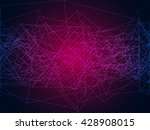 abstract modern geometrical... | Shutterstock .eps vector #428908015