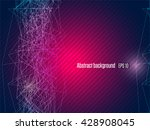 abstract modern geometrical... | Shutterstock .eps vector #428908045