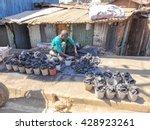 kibera slum kenya   september... | Shutterstock . vector #428923261