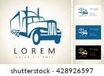 truck logo | Shutterstock .eps vector #428926597