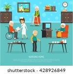 Gerontology Nursing Flat Poste...