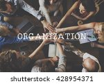 Small photo of Organization Collaboration Commitment Team Concept