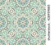 abstract seamless vintage... | Shutterstock .eps vector #428959885