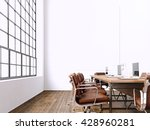 interior modern meeting room... | Shutterstock . vector #428960281