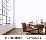 interior modern meeting room... | Shutterstock . vector #428960281