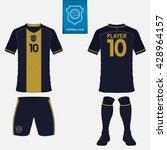 set of soccer or football kit...   Shutterstock .eps vector #428964157