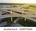 aerial view massive highway... | Shutterstock . vector #428979364