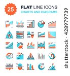 charts and diagrams | Shutterstock .eps vector #428979739
