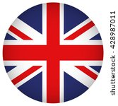 united kingdom flag button | Shutterstock .eps vector #428987011