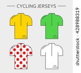 types of cycling sportswear.... | Shutterstock .eps vector #428988319