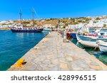 boats mooring at pier in...   Shutterstock . vector #428996515