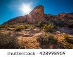 Red Rock Canyon  Nevada  Usa.