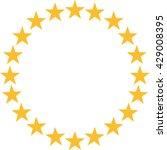 Stars In Circle Shape