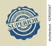 superior grunge seal | Shutterstock .eps vector #429045367