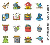 icon set character vector