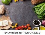Cooking Food Ingredients....
