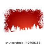 red holiday background | Shutterstock .eps vector #42908158