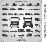 truck icon vector | Shutterstock .eps vector #429082255